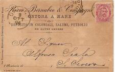 ORTONA A MARE - ROCCO BERNABEO & COMPAGNI Deposito in Coloniali Salumi Petrolio