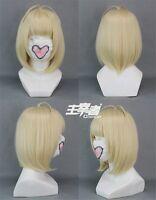Ao No Blue Exorcist Shiemi Moriyama Anime Cosplay Costume Wig + Free CAP