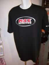 T-shirt uomo CHAMPION Max Nutrition nero tg XXXL