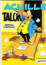 ACHILLE TALON MEPRISE L'OBSTACLE RARE PUBLICITE CHAMOIS D'OR 1994 TBE