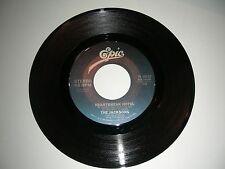 "The Jacksons - Heartbreak Hotel   45 rpm   7"" Vinyl  Epic Records  NM  1980"