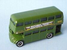 Matchbox routemaster rm london vert corps excursions touristiques 75mm