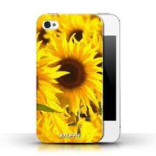 Stuff4 Hülle/Case für Apple iPhone 4/4S/Sonnenblumen/Blumen Garte