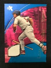 New listing 2002 Fleer EX MLB Essential Credentials Game Used Base Albert Pujols SP 52/59