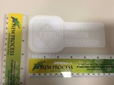 Pace ITS White Decal - Part #670031 (from OEM supplier)