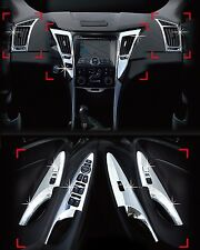 Chrome Interior Kit Molding Trim LED type 10p For 11-14 Hyundai Sonata YF : ix45