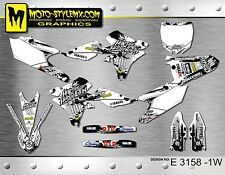 Yamaha YZF 250 YZ 450f 2014 up to 2017 graphics decals kit Moto StyleMX