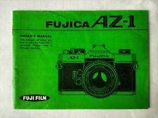 Fuji Fujica AZ-1 original printed owner's manual instruction guide book