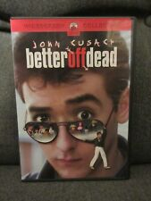 2002 Better Off Dead Dvd Starring John Cusack