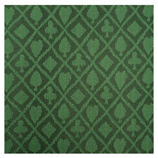 3 Yard POKER TABLE SUITED SPEED WATERPROOF CLOTH Emerald Green 108 x 60 INCH