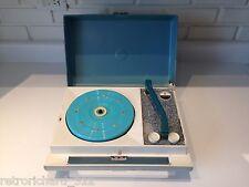 Rare Vtg Zenith Portable Record Vinyl Player Turntable Music Mid Modern Retro