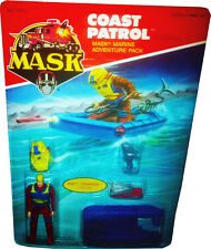 M.A.S.K. MASK Kenner  - Coast Patrol Vintage 1986 - Collectible MOSC AFA IT!!
