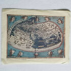 Ptolemy's Map of the Known World, Reproduction of Ulm Edition,1482, VG Condition