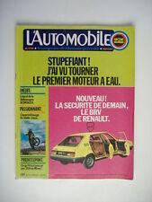 L'AUTOMOBILE 338 VW SCIROCCO-RENAULT 12 TR-SUZUKI 750 ROCA