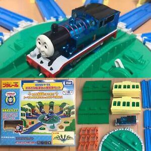 "Thomas & Friends Tomy Metallic Plarail Turntable Sheds Toys""R""Us Japan with Box"
