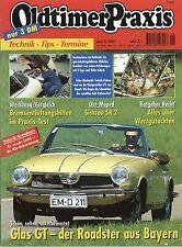Oldtimer Praxis 1997 6/97 BMW Isetta Ducati V2 Fiat 509 Glas GT Simson SR2 Moped