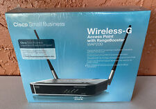 Cisco Linksys WAP200 Wireless-G Access Point *BRAND NEW SEALED*
