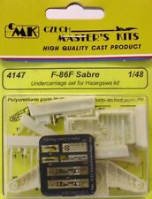 CMK 1/48 F-86F Sabre Undercarriage Set for Hasegawa # 4147