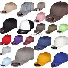 Original Flexfit baseball caps, mens & ladies yupoong flexifit fitted hats s-xl