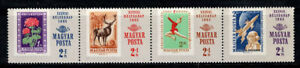 Hungary 1965 Mi. 2175-2178 A Used 100% Space