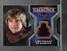 Battlestar Galactica Colonial Warriors costume card CC2 Dirk Benedict - Starbuck