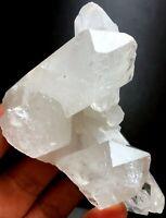 167g 1PC Himalayan  RAW Natural Lemurian Quartz Lemurian Crystal Point   S376