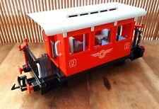 Playmobil 4001 vagon tren western 4002 4003 wagon pasajeros train far west