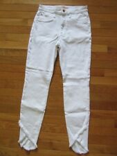 Joe's Jeans Charlie White High-rise Ankle SKINNY Leg 27