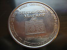 historical marker pass christian ms. 1967 Mardi Gras Doubloon Coin new orleans