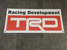 TRD Racing Development Toyota banner sign drifting off-road baja tacoma tundra