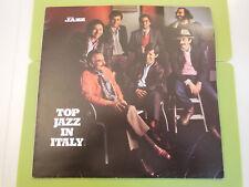 Top jazz in Italy disco 33 giri Lp Musica Jazz