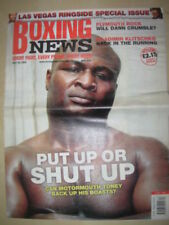 Boxing News Weekly Sports Magazines in English