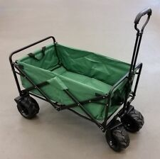 Bollerwagen faltbar Transporthilfe  Handwagen Wagen Transportmittel grün