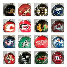 Buy 3, Get 2 (ADD 5 TO CART)! NHL PRO HOCKEY TEAM Dangle Charms w/Lobster Clasp
