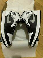 Nike Air Jordan 1 Mid Black White Shadow Grey UK 8 - US 9 - EU 42.5 - 554724-073