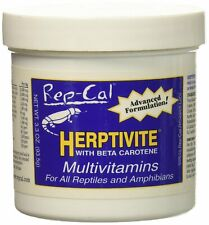 Rep Cal Herptivite Multivitamin Supplements for Reptiles 3.3 oz