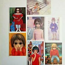 Walter (Margaret) Keane BIG EYES Greeting Cards Lot of 7 Vintage 1962-1964 NEW