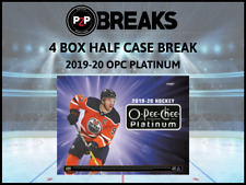 2019-20 O-PEE-CHEE PLATINUM 4 BOX HALF CASE BREAK #2 - Boston Bruins
