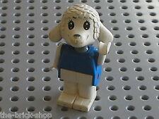 LEGO x593c01 Fabuland Personnage Figure Mouton Lamb 1 / Set  3654 & 3792