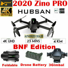 Hubsan Zino PRO FPV  Drone 5G 4K GPS Quadcopter Brushless 3 Gimbal+Battery BNF