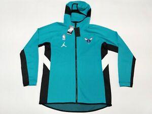 Nike Showtime Thermal Flex Full Zip Jacket Charlotte Hornets AV0805-415 Sz XLT