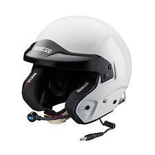 Sparco PRO RJ-3i OpenFace RaceRally Helmet Intercom SNELL FIA HANS 033525 XLarge