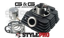 CYLINDRE KIT CYLINDRE 43mm 60cc YAMAHA DT50MX 1985-1996 DT50R 1990-1996
