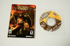Lords of the Realm III Windows PC CD-ROM Disc + Manual