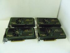 LOT OF 4 PNY GEFORCE GTX 570 1.25GB GDDR5 PCLE 2.0 VIDEO GRAPHIC CARD