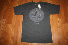 NWT Mens O'NEILL Heathered Gray Crew Neck Waves Graphic T-Shirt Size M Medium