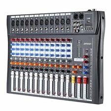 Mischpult Dj Control, ammoon 120S-USB-12-Kanal Mischpult  ohne Netzteil fehlt.