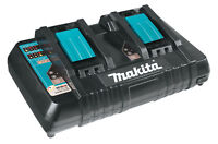 Genuine Makita DC18RD 18V LXT Twin Port Battery Charger