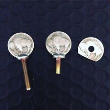 Tattoo Parts Buffalo Nickels 8/32 Vice, Contact Screw & Spring Shelf Washer USA