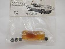MES-51387BS design 1:87 Opel GT Resin Bausatz